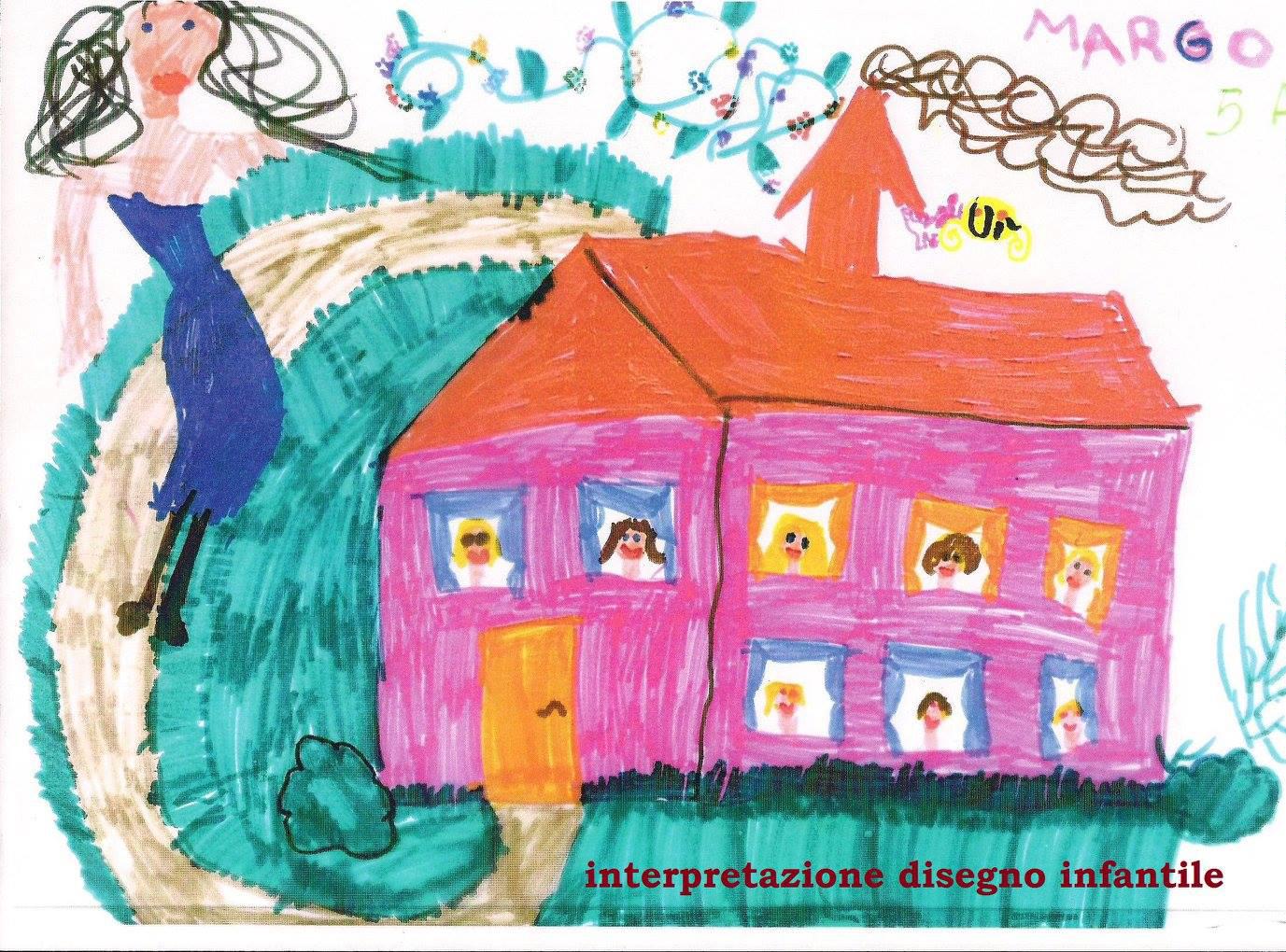 Interpretazione disegno infantile la casa for Disegno della casa